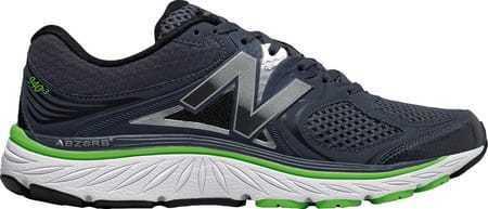 New Balance Men's 940v3 Running Shoe Thunder/Energy Lime