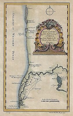 24x42 1790s Historic World Map of the Discoveries of Captain Cook