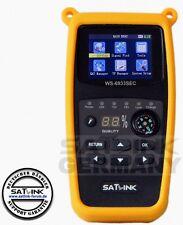 CAMPING SATFINDER SATLINK WS-6933 SEC HD COLOR INKLUSIVE 2 SCHUTZTASCHEN TOP ***