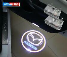 2X LED door step courtesy laser projector light For Mazda 6 2014-2016