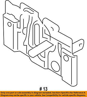 FORD OEM 13-16 Escape Hood-Lock Latch CV6Z16700A