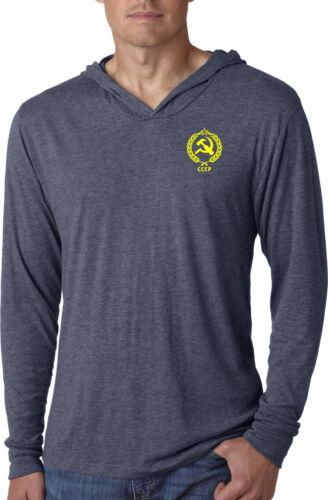Buy Cool Shirts CCCP T-shirt Crest Pocket Print Lightweight Hoodie