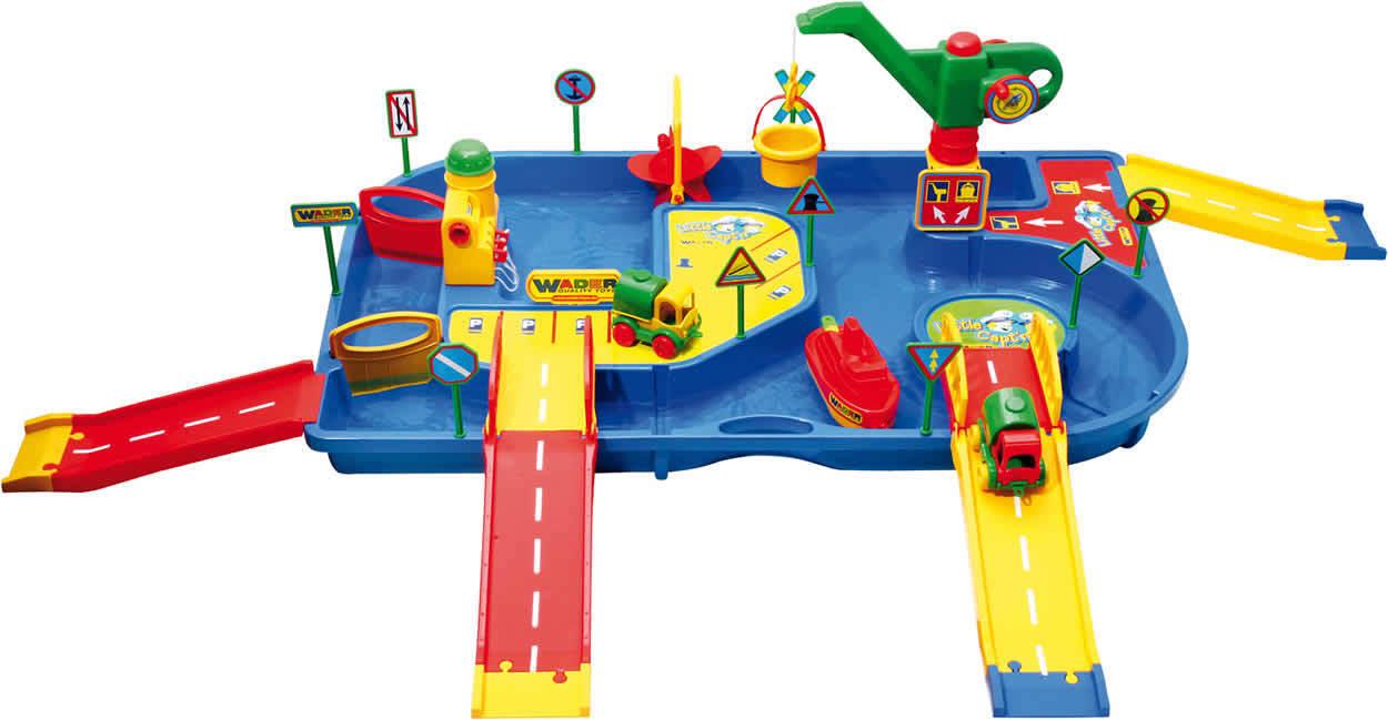 WADER Profi Profi Profi Wassersystem Wasserspielzeug Badespielzeug 7547ec