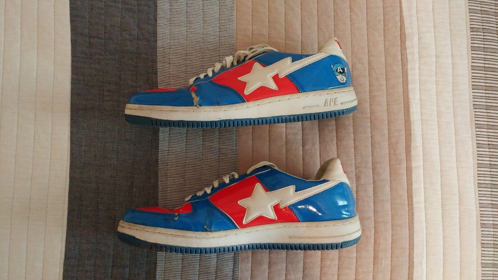 Bape Captain America Sneakers 2018 Size 12