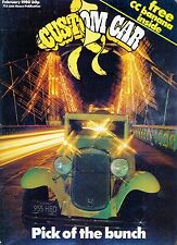 CUSTOM CAR february 1980-1931 chevy-anglia/consul sleds-mopar miss dodge-v8 mag