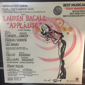 ORIG. CAST LP..APPLAUSE..LAUREN BACALL...FACTORY SEALED ..ABC RECORDS 1970