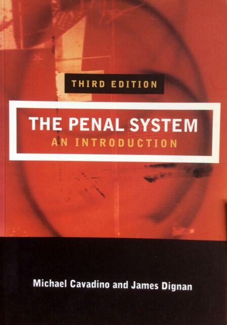 Penal System An Introduction   James Dignan & Mick Cavadino  Sage Publishing