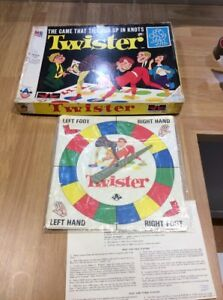 Funny Twister Classic Game Crafts Body Twist Family Party Interactive Game DKO