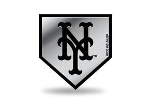 new york ny mets logo mlb molded self adhesive auto emblem