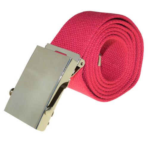 Damengürtel Stoffgürtel 4er Set Damen Gürtel aus Stoff Automatikschnalle bunt