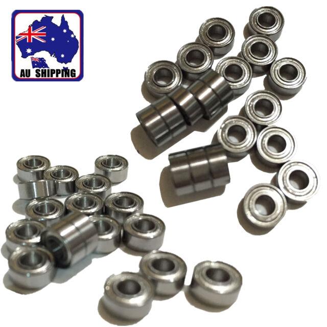 10pcs 683zz 3x7x3mm Mini Deep Groove Ball Bearing Bearings Metal OMOB28683x10