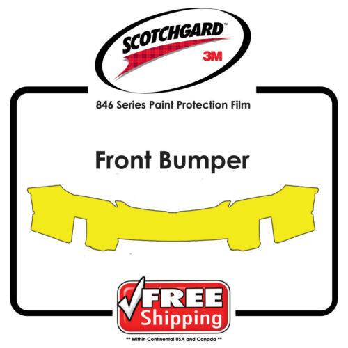 Kits for Hyundai 3M 846 Scotchgard Paint Protection Film Front Bumper Only