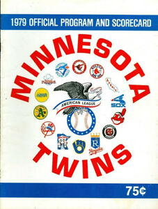 1979-Minnesota-Twins-Scorebook