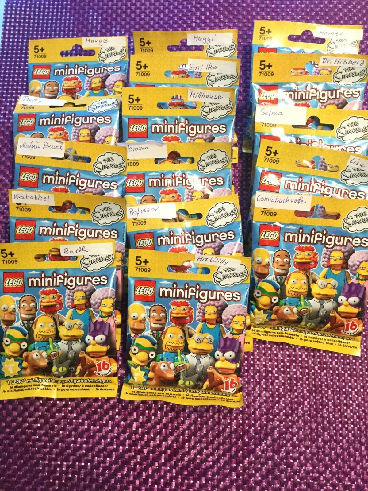 Lego Minifiguren, 71009, The Simpsons Serie 2, Neu