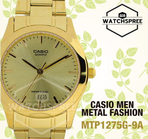 1 of 1 - Casio Classic Series Men's Analog Watch MTP1275G-9A