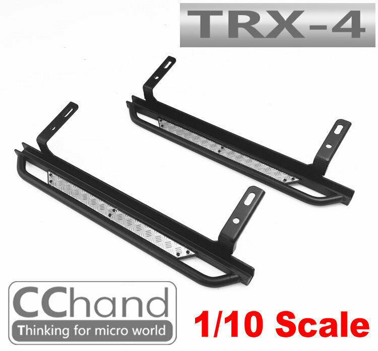 CC He METAL SIDE PEDAL  for TRX-4 CHASSIS TRAXXAS  shopping online di moda