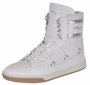 dc9b0716f267d NEW YSL Yves Saint Laurent California Ski High Top Sneaker Faux Fur ...