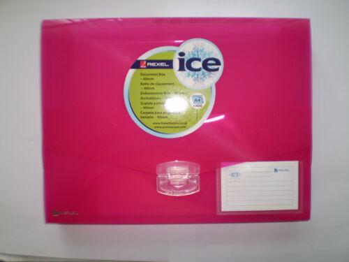 Farbe rot 40mm Rexel Dokumentenmappen Kunststoff ICE 2102029