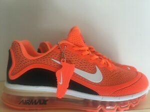 pretty nice be67d f81f9 Details about NIKE AIR MAX 2017 Running Trainers Shoes (Orange & Black)  Size 8