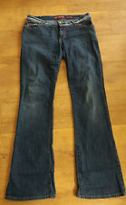 MISS SIXTY EXTRA LOW TV JEANS SIZE 32