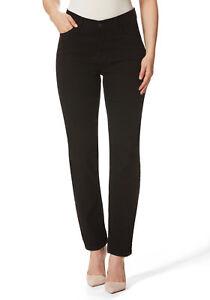 Stooker-Nizza-Damen-Stretch-Jeans-BLACK-DENIM-WASH-Tapered-FIT-ehem-DUBAI