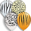 Animal-Safari-Birthday-Balloons-Gender-Reveal-Jungle-Party-Theme-Decorations thumbnail 4