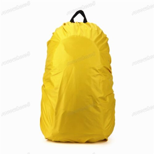 Outdoor Waterproof Dust Rain Cover Travel Camping Backpack Hiking Rucksack Bag