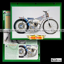 #057.11 Fiche Moto WESLAKE 500 SPEEDWAY 1978-90 Motorcycle Card