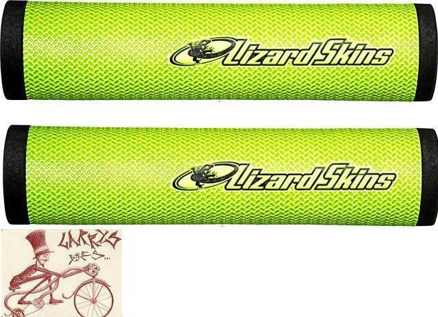 LIZARD SKINS DSP 32.3MM GREEN MTB BICYCLE GRIPS