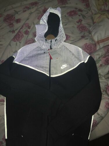 Tech chaqueta con capucha Grey 3m Nike reflectante grande Windrunner Flash Ov0XRnqd