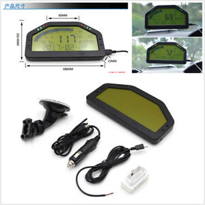 Universal car dash race lcd display obd2 bluetooth dashboard digital image is loading universal car dash race lcd display obd2 bluetooth fandeluxe Image collections