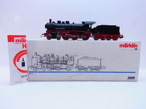 52512-Gut-erhaltene-Maerklin-H0-3099-Dampflok-mit-Tender-BR-38-der-DRG-in-OVP