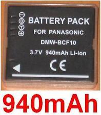 Akku 940mAh typ CGA-S009E BCF10 DMW-BCF10E Für Panasonic Lumix DMC-FT3
