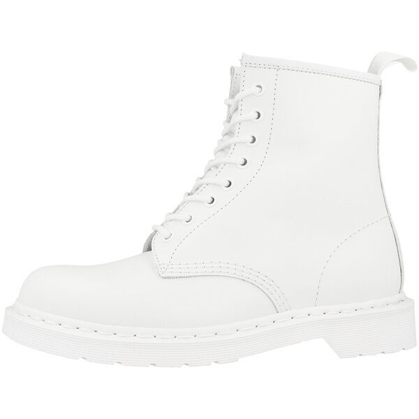 Dr Doc Martens 1460 Boots 8-Loch Leder Stiefel mono white smooth 14357100