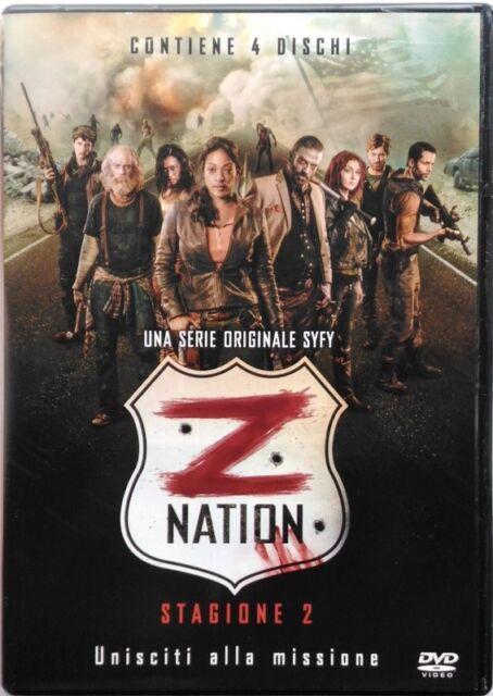 Dvd Z Nation - Temporada 2 - caja 4 discos Usado