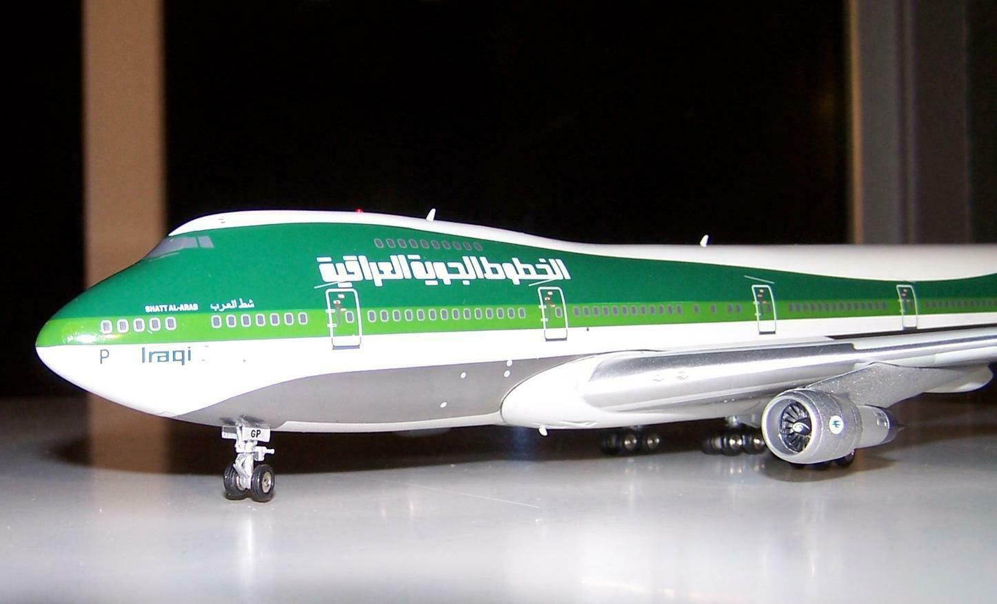 Boeing 747-200 Exclusive model of Classic irakien Airways by Vol 200 neuf dans sa boîte 1 200
