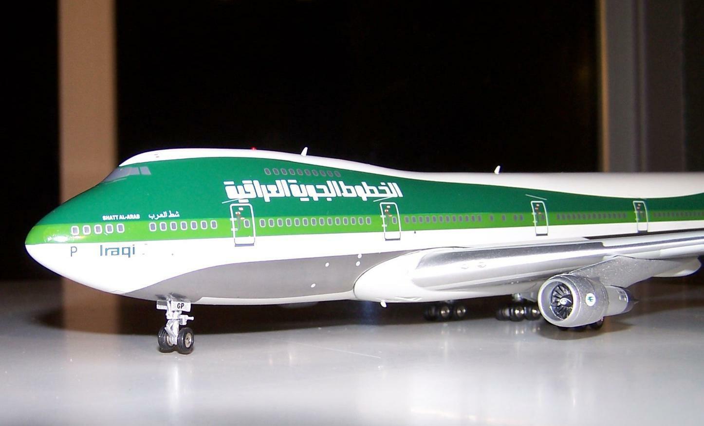 Boeing 747-200 Exclusive model of Classic irakien Airways by Vol 200 neuf dans sa boîte 1 200
