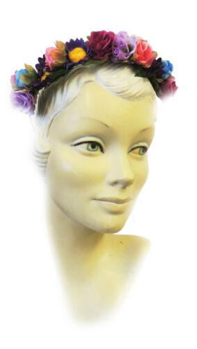 NUOVO Retro Vintage 1930's 40's WW2 STILE INGLESE CLASSICO Floreale Alice Banda