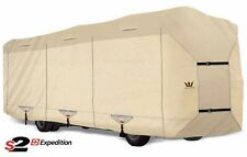 S2 Expedition Premium Class A RV Cover - fits 31' - 32' Length - TAN