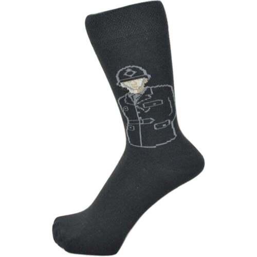 British Policeman Design Men/'s Socks size 4-8 UK