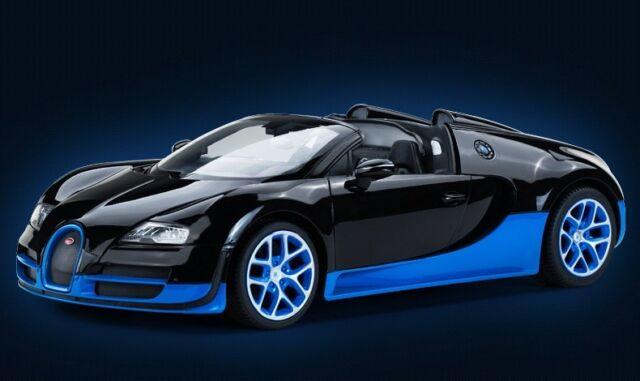 Rastar Rc 1 14 Bugatti Veyron 164 Grand Sport Vitesse Remote Radio
