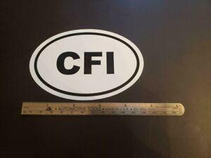 CFI-Oval-Sticker-Aviation-Pilot-Aircraft-Cessna-Piper-Cirrus-Diamond-Mooney