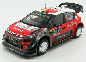 NOREV CITROEN   C3 WRC N 11 RALLY OF SUEDE 2018 C.BREEN  - S.MARTIN   RED WHI...