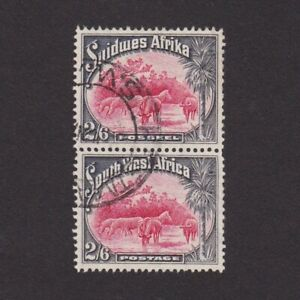 SOUTH-WEST-AFRICA-1931-Sc-117-CV-27-Animals-Used