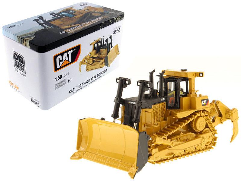 1 50 CHAT CAT D10T Génie voiture CAMIONS DIECAST Pelle type Bulldozer 85158
