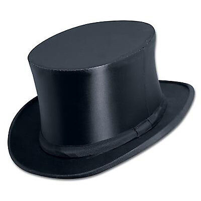 Collapsible Satin Top Hat