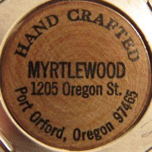 Vintage Sambos Restaurants Medford OR Wooden Nickel Token Oregon #1