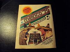 Advertising Italian Pubblicità Werbung: MEXICO '70 (BILIARDINO DA TAVOLO) *1970*
