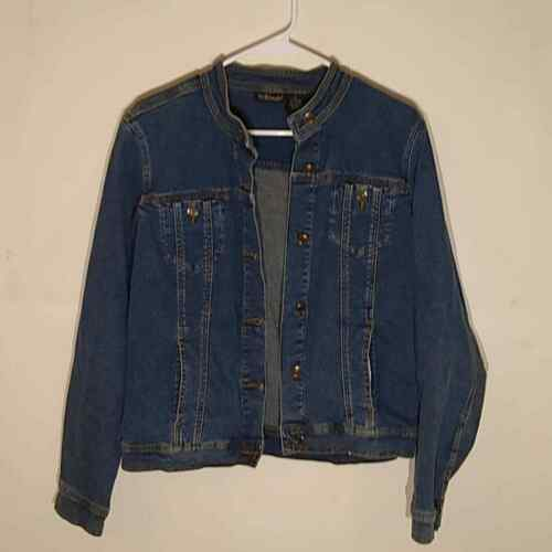 Willi Smith women's jean jacket. Size large