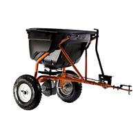 Seeder Spreader 130-pound Tow Behind Broadcast Spreader Home Garden Supplies